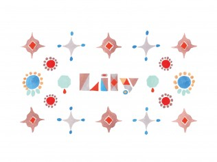 Lily jewelry Shop card/2016